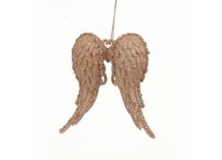 Новогоднее украшение крылья