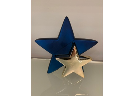 GOLDBACH Звезда цвет синий/золотой