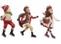 Новогодние игрушки фигурки мальчик девочка